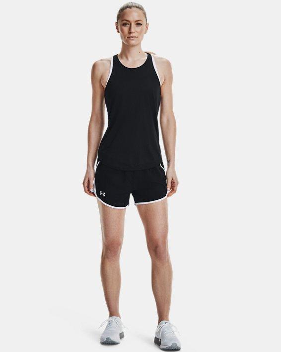 Women's UA Fly-By 2.0 Shorts, Black, pdpMainDesktop image number 0