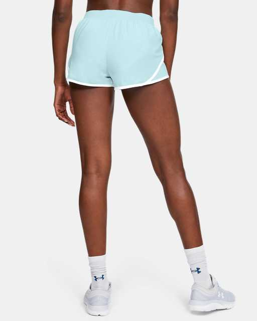 Women's UA Fly-By 2.0 Shine On Mini Shorts