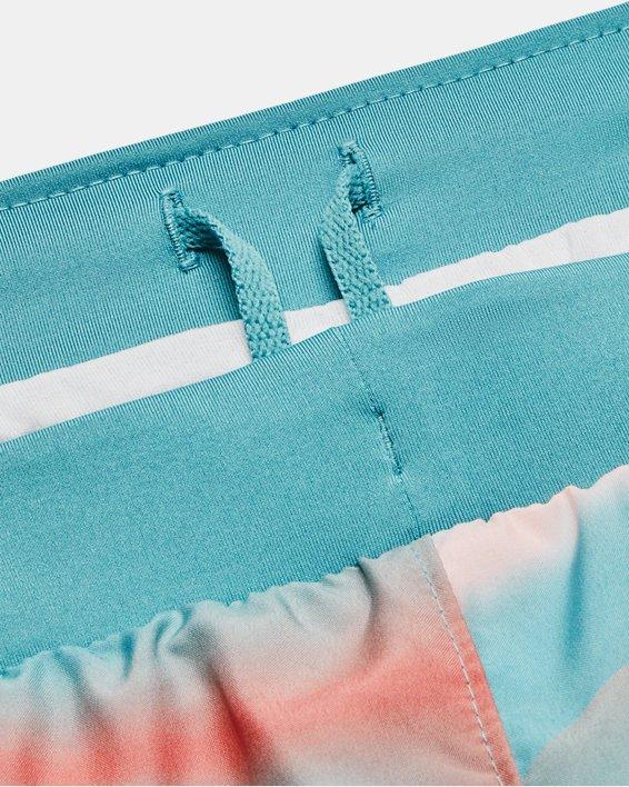 Women's UA Fly-By 2.0 Printed Shorts, Blue, pdpMainDesktop image number 6