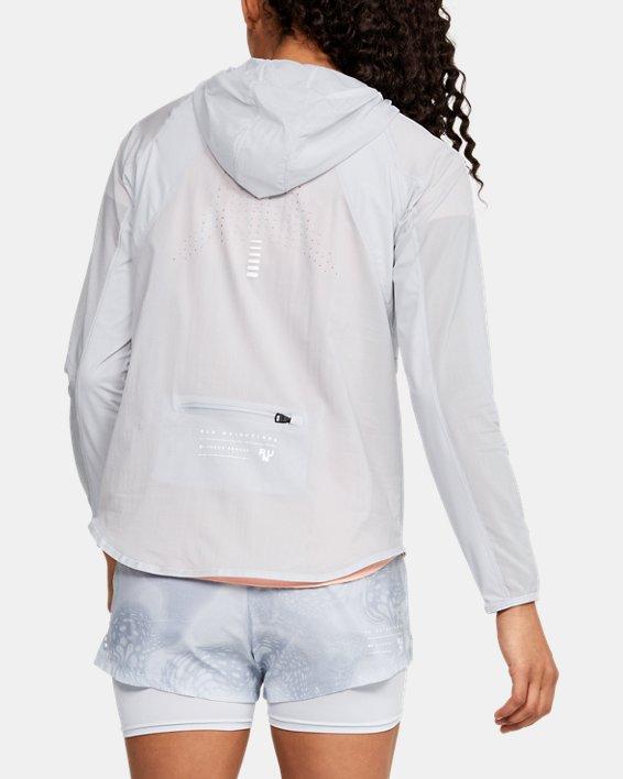 Women's UA Qualifier Weightless Packable Jacket, Gray, pdpMainDesktop image number 2