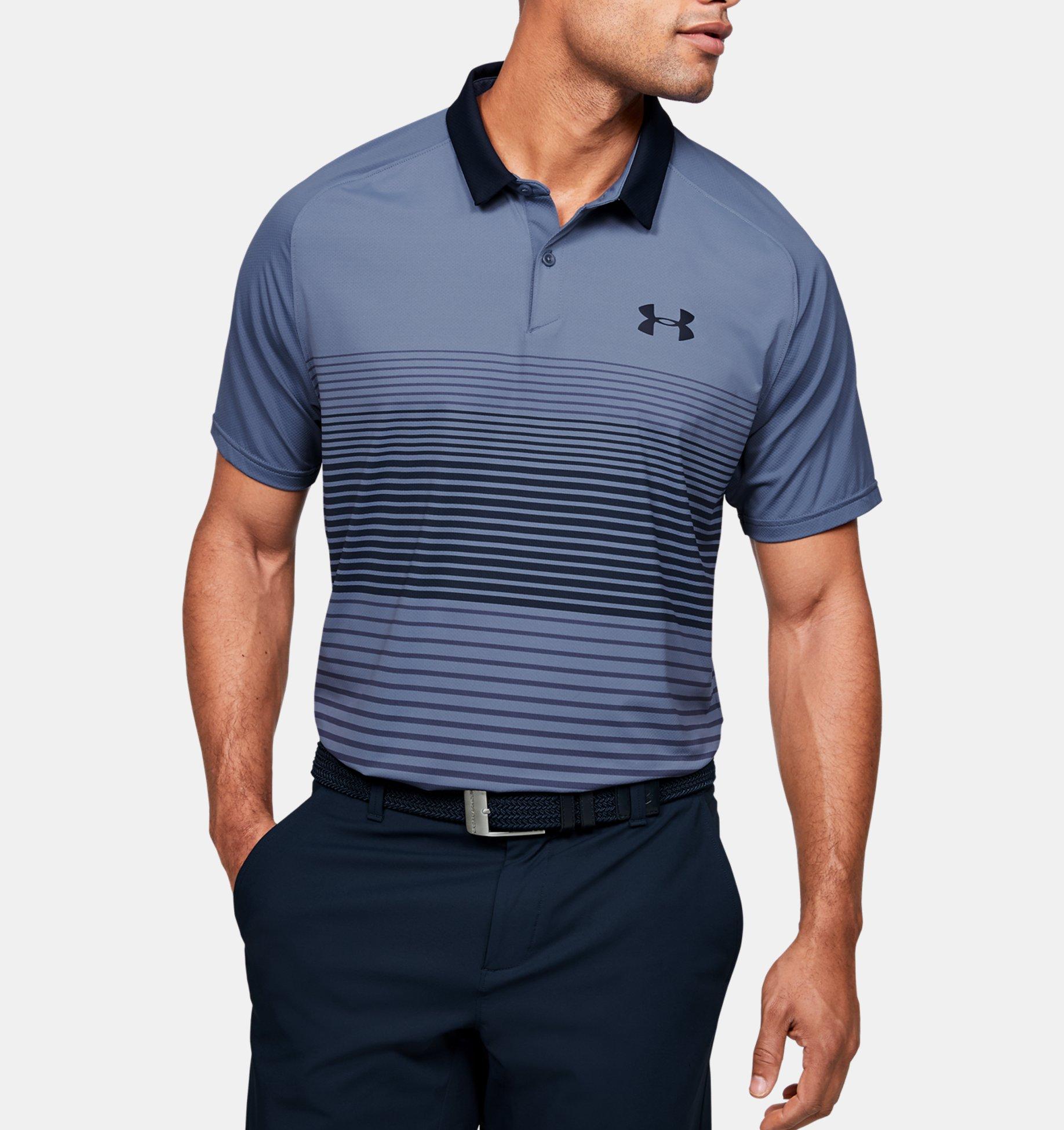 Underarmour Mens UA Iso-Chill Polo Stripe