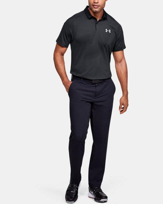Men's UA Iso-Chill Polo, Black, pdpMainDesktop image number 1