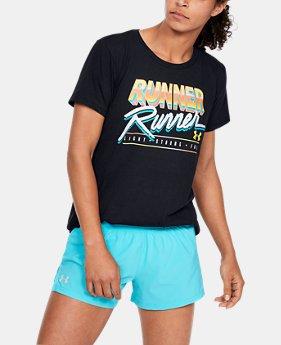 de7a3b77 New Arrival Women's UA Runner Runner Short Sleeve 1 Color Available $35