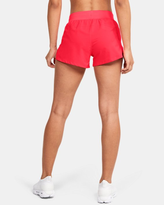 "Women's UA Launch SW 3"" Get Out & Run Shorts, Red, pdpMainDesktop image number 2"