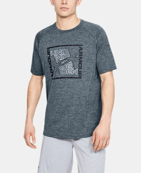 ac2fa4339 New Arrival Men's UA Tech™ Graphic Short Sleeve T-Shirt 1 Color Available  $25