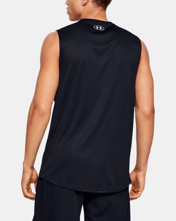 Men's UA Velocity Graphic Muscle Tank, Black, pdpMainDesktop image number 2