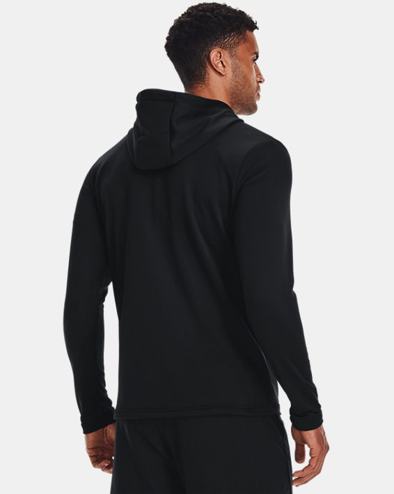 Men's UA Tech™ Terry Full Zip, Black, pdpMainDesktop image number 2