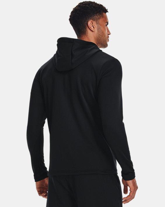 Men's UA Tech™ Terry Full Zip, Black, pdpMainDesktop image number 2