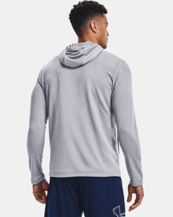 Men's UA Tech™ Terry Full Zip, Gray, pdpMainDesktop image number 2