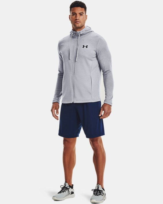 Men's UA Tech™ Terry Full Zip, Gray, pdpMainDesktop image number 1