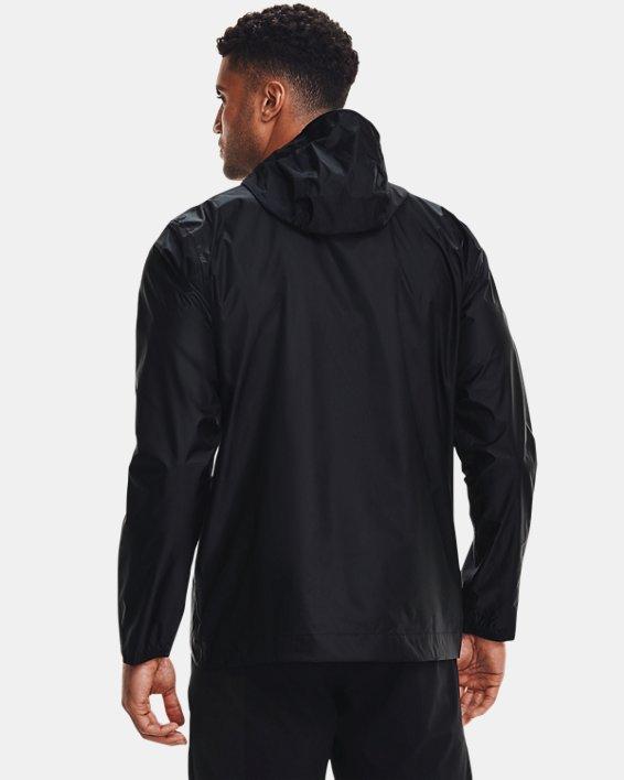 Men's UA Cloudburst Shell Jacket, Black, pdpMainDesktop image number 2