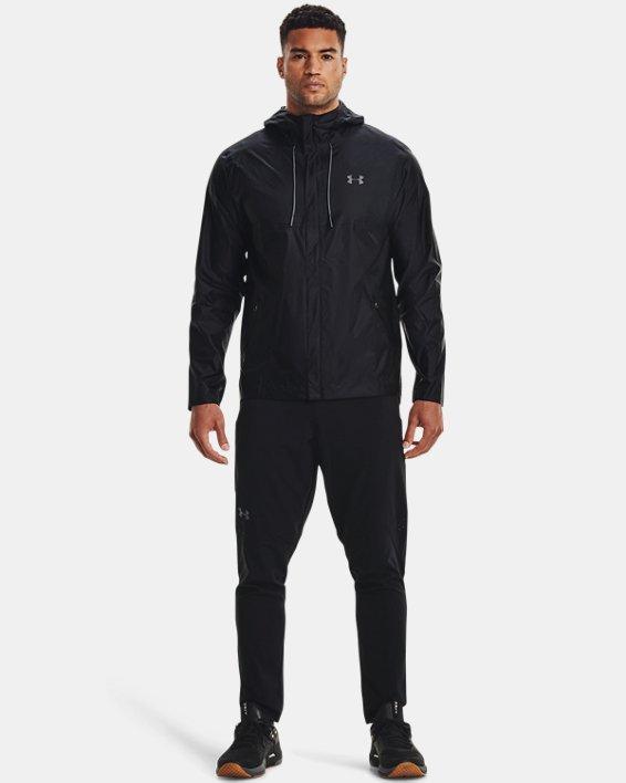 Men's UA Cloudburst Shell Jacket, Black, pdpMainDesktop image number 1
