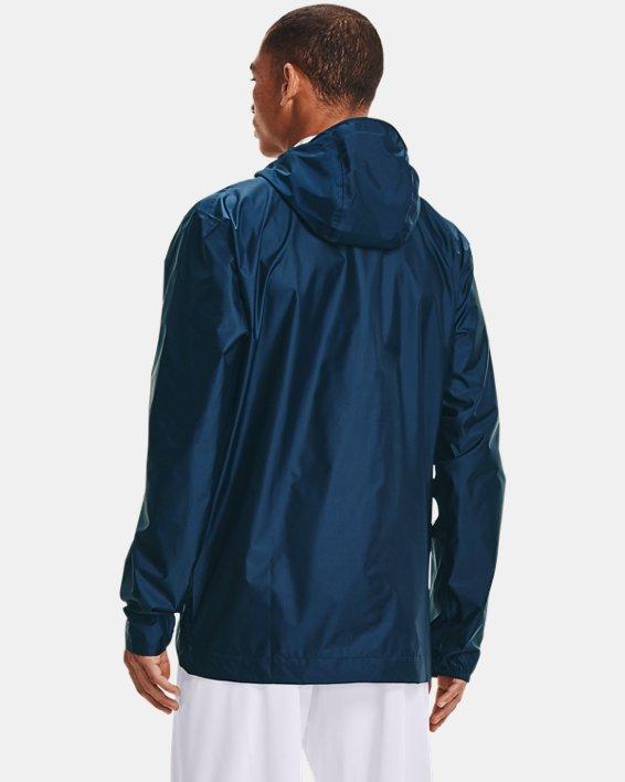 Men's UA Cloudstrike Shell Jacket, Navy, pdpMainDesktop image number 2