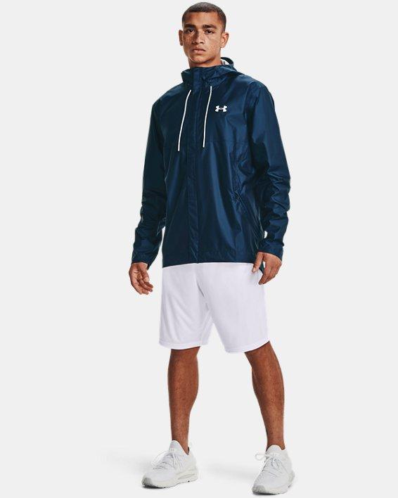 Men's UA Cloudstrike Shell Jacket, Navy, pdpMainDesktop image number 0