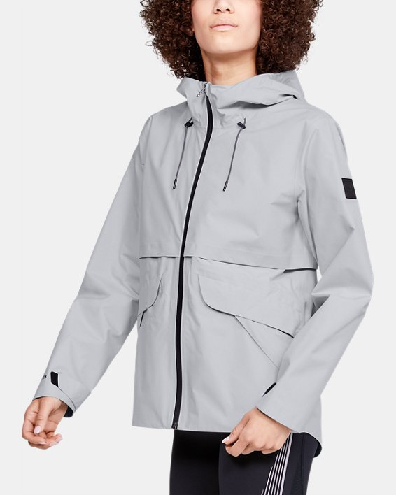 Women's GORE-TEX® Paclite® Rain Jacket, Gray, pdpMainDesktop image number 0