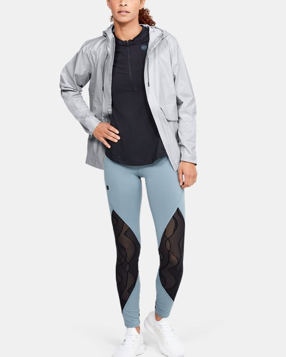Women's UA Cloudburst Shell Jacket, Gray, pdpMainDesktop image number 1