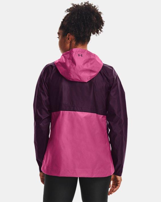 Women's UA Cloudstrike Shell Jacket, Purple, pdpMainDesktop image number 1