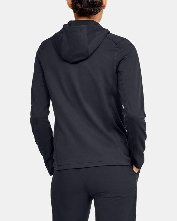 Women's ColdGear® Reactor Hybrid Lite Print Jacket, Black, pdpMainDesktop image number 2