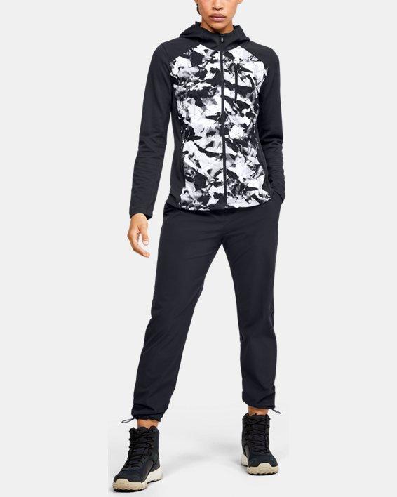 Women's ColdGear® Reactor Hybrid Lite Print Jacket, Black, pdpMainDesktop image number 1