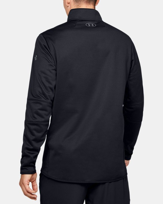 Fleece 1/2 Zip, Black, pdpMainDesktop image number 2