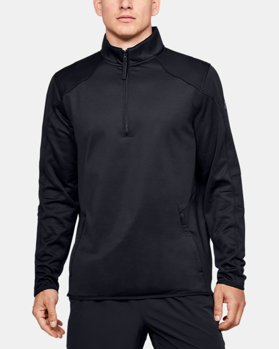 Fleece 1/2 Zip, Black, pdpMainDesktop image number 0