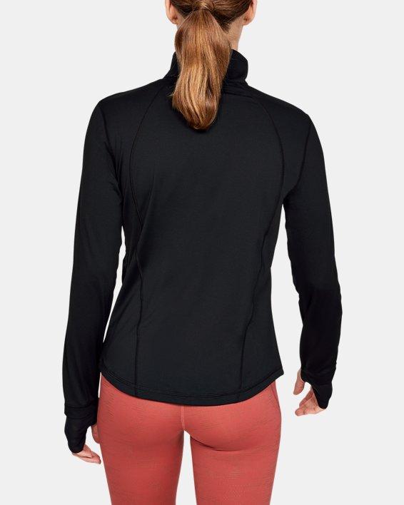 Women's UA RUSH™ Full Zip, Black, pdpMainDesktop image number 2
