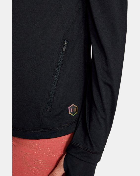 Women's UA RUSH™ Full Zip, Black, pdpMainDesktop image number 5