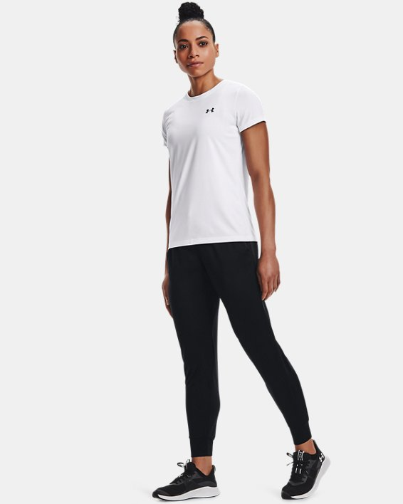 Women's UA Tech™ Pants, Black, pdpMainDesktop image number 1