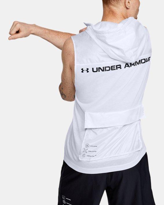 Men's UA Always On Sleeveless ½ Zip, White, pdpMainDesktop image number 0