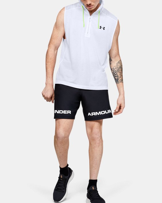 Men's UA Always On Sleeveless ½ Zip, White, pdpMainDesktop image number 1
