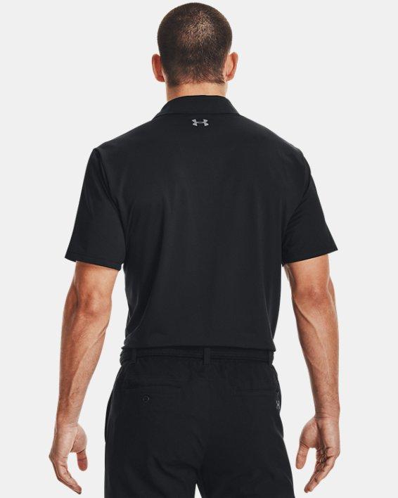 Men's UA Performance Polo, Black, pdpMainDesktop image number 2