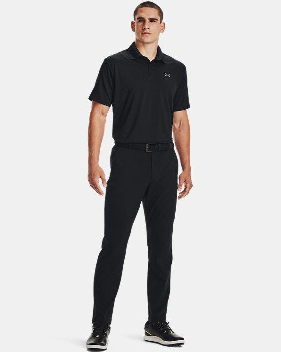 Men's UA Performance Polo, Black, pdpMainDesktop image number 1
