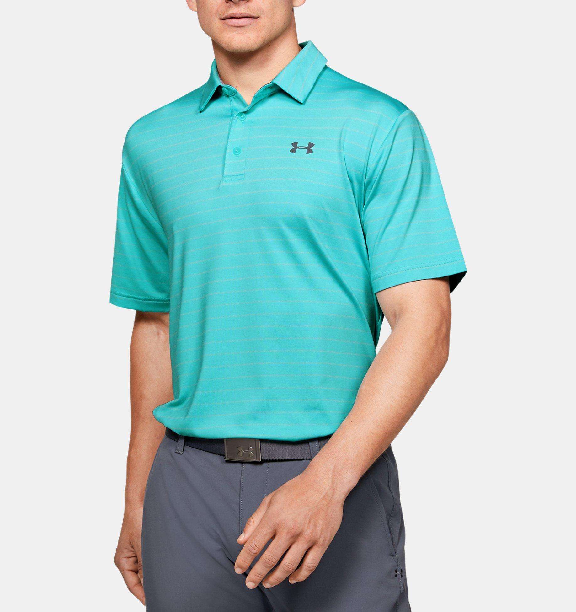 Underarmour Mens UA Playoff Polo Core Stripe