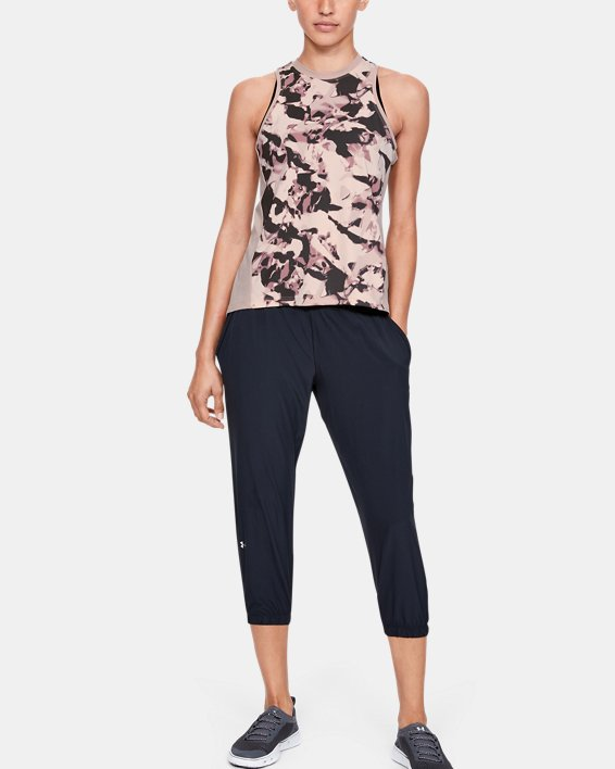 Women's UA Iso-Chill Tank Top, Pink, pdpMainDesktop image number 1