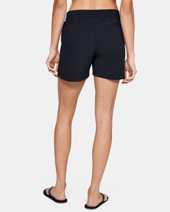 Women's UA Mantra Shorts, Black, pdpMainDesktop image number 2