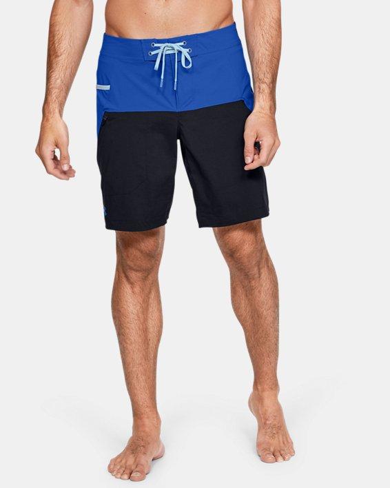 Men's UA Fish Hunter Boardshorts, Blue, pdpMainDesktop image number 0