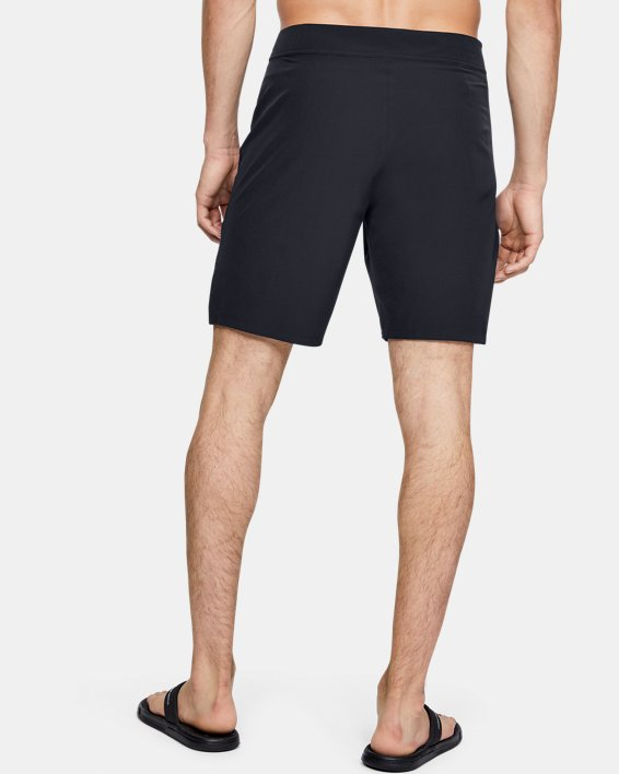 Men's UA Mantra Boardshorts, Black, pdpMainDesktop image number 2