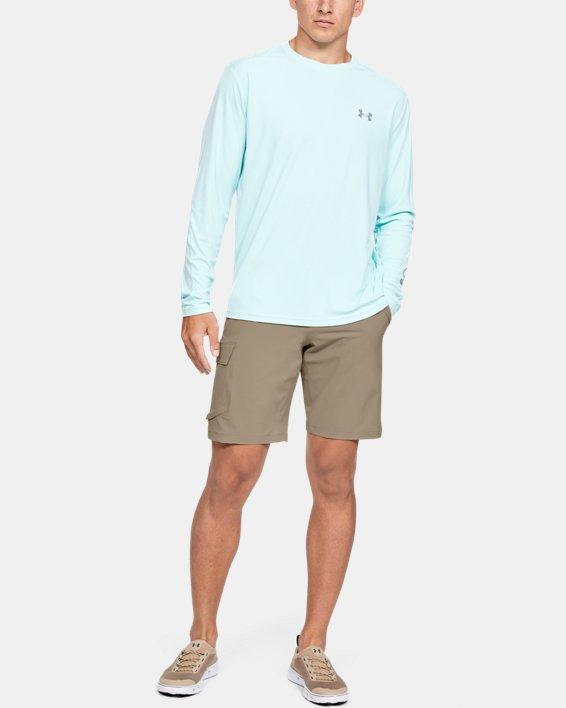Men's UA Mantra Cargo Shorts, Brown, pdpMainDesktop image number 0