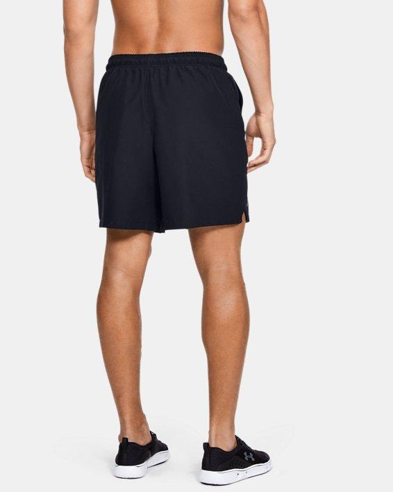 Men's UA Shore Break Volley Shorts, Black, pdpMainDesktop image number 2