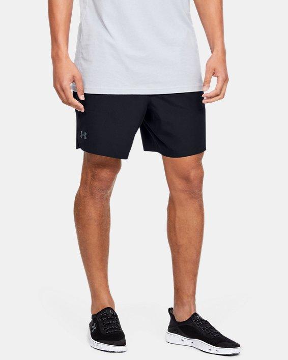 Men's UA Shore Break Volley Shorts, Black, pdpMainDesktop image number 1