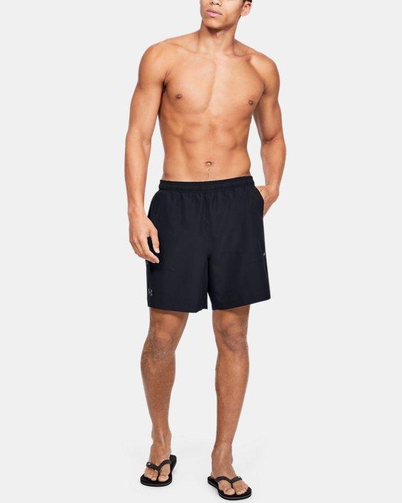 Men's UA Shore Break Volley Shorts, Black, pdpMainDesktop image number 5
