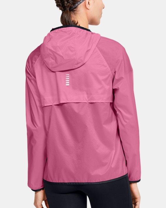 Women's UA Storm Lightweight Jacket, Pink, pdpMainDesktop image number 2