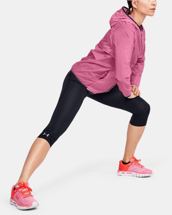Women's UA Storm Lightweight Jacket, Pink, pdpMainDesktop image number 1