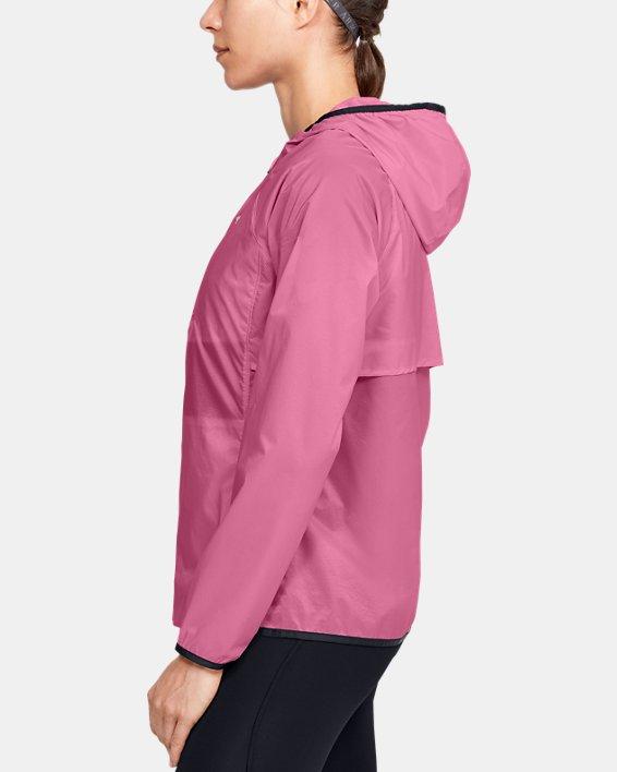 Women's UA Storm Lightweight Jacket, Pink, pdpMainDesktop image number 3