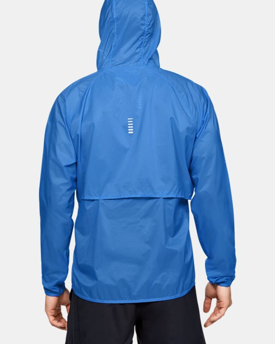 UA Run Storm Lightweight Jkt, Blue, pdpMainDesktop image number 2