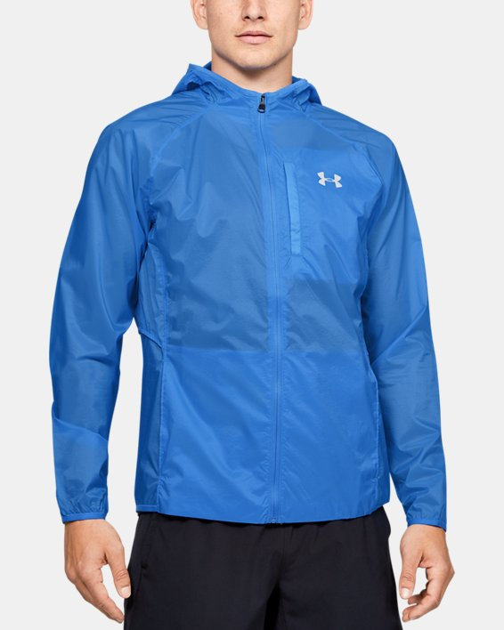 UA Run Storm Lightweight Jkt, Blue, pdpMainDesktop image number 0