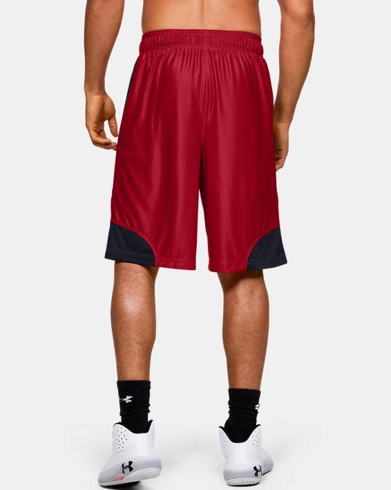 Men's UA Perimeter Shorts, Red, pdpMainDesktop image number 2
