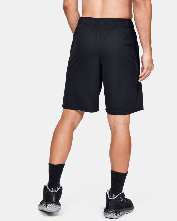 "Men's UA Baseline 10"" Court Shorts, Black, pdpMainDesktop image number 2"