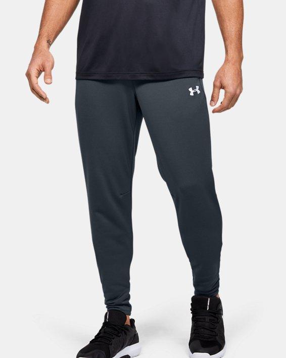 Men's UA Qualifier Fleece Joggers, Gray, pdpMainDesktop image number 0