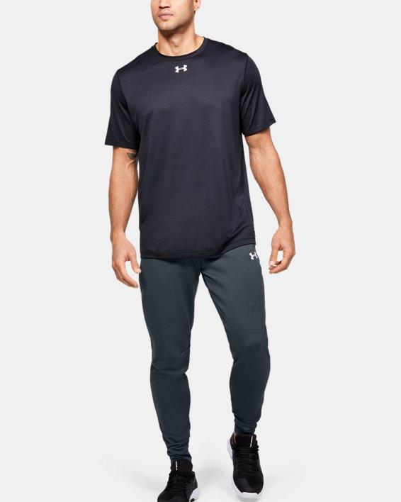 Men's UA Qualifier Fleece Joggers, Gray, pdpMainDesktop image number 1